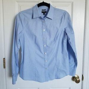 Talbots Dress Shirt - Blue Petite